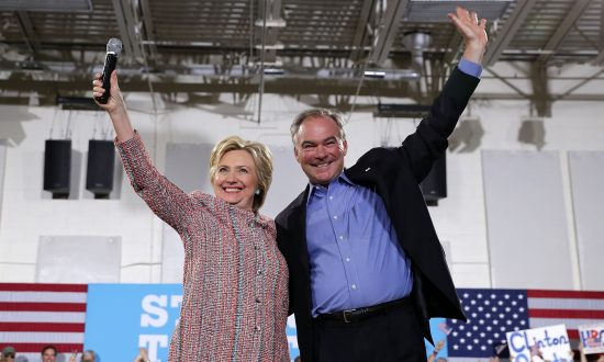 Clinton Campaign Seeks to Make Most of Kaine's Spanish