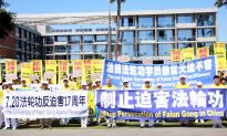 LA Falun Gong Practitioners Appeal to Stop Organ Harvesting