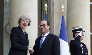 British PM Reassures France on Defense Ties After EU Exit