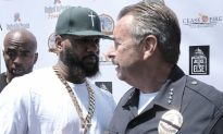 LAPD Chief, Rapper 'The Game' Team up for Anti-Violence PSA