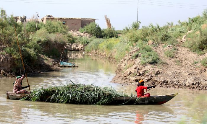 The Ahwar area in the southern Maysan province – also known as the Iraqi Marshlands – is one of the world's largest inland delta systems. Once ravaged by dictator Saddam Hussein, UNESCO has named the area as a World Heritage Site. (HAIDAR MOHAMMED ALI/AFP/Getty Images)
