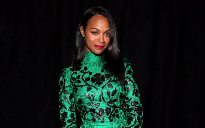 Actress Zoe Saldana attends Spike TV's Guys Choice 2015 at Sony Pictures Studios on June 6, 2015 in Culver City, California. (Christopher Polk/Getty Images for Spike TV)