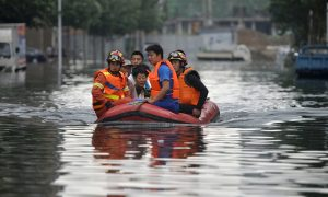 Floods Kill at Least 154 Across China, Leave Scores Missing