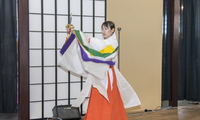 Tea Ceremony at the J-POP Summit 2016 at Fort Mason, San Francisco, July 23 (Mark Cao/Epoch Times)