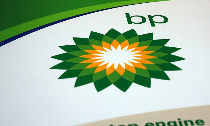 A BP sign is viewed at a gas station in Brooklyn in New York City on Feb. 2, 2016. (Spencer Platt/Getty Images)