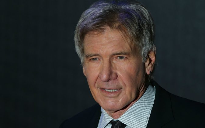 US actor Harrison Ford attends the opening of the European Premiere of 'Star Wars: The Force Awakens' in central London on December 16, 2015. (JUSTIN TALLIS/AFP/Getty Images)
