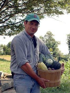 Richard Noonan, a farmer in New Boston, New Hampshire. (Courtesy of Middle Branch Farm)