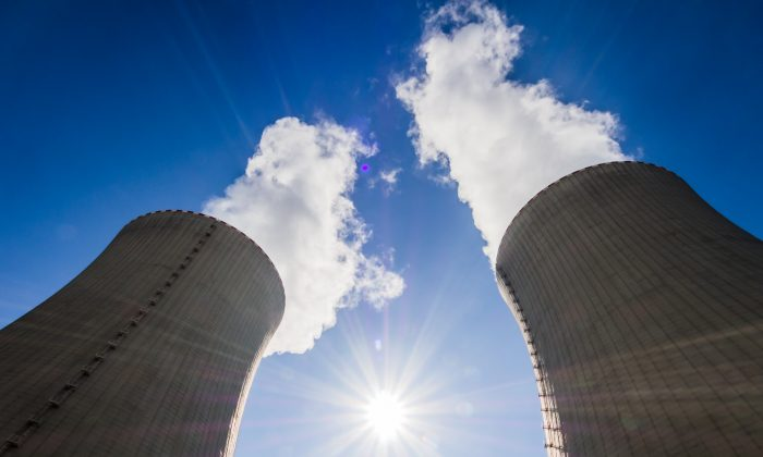 A file photo of nuclear power plant cooling towers. (Petr Louzensky/Shutterstock)