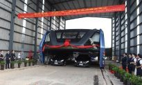 Did China Actually Test Its Giant Elevated Bus?