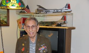 World War II Vet Remembers His Service on V-J Day