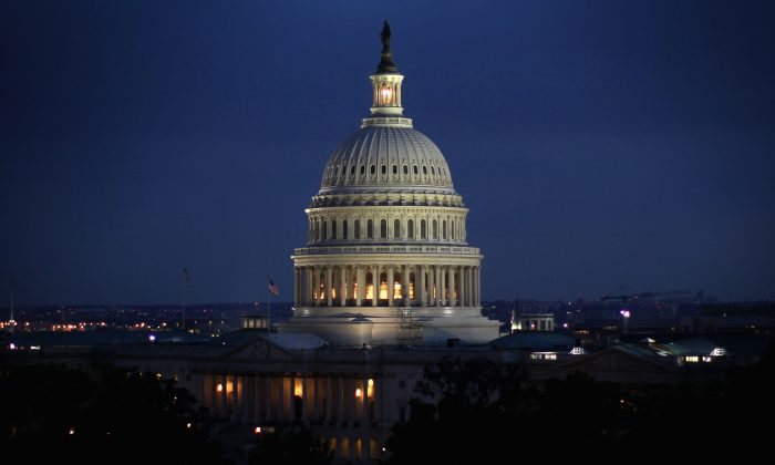 The U.S. Capitol building on the evening of June 10, 2014. (Alex Wong/Getty Images)