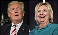 Clinton Leads Over Trump by Double-Digits in New National Poll