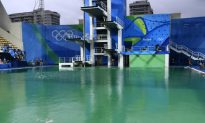 Report: Olympic Diving Pool That Turned Green Is Officially Closed
