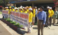 Supporters of Longtime Chinese Prisoner of Conscience Rally in Los Angeles