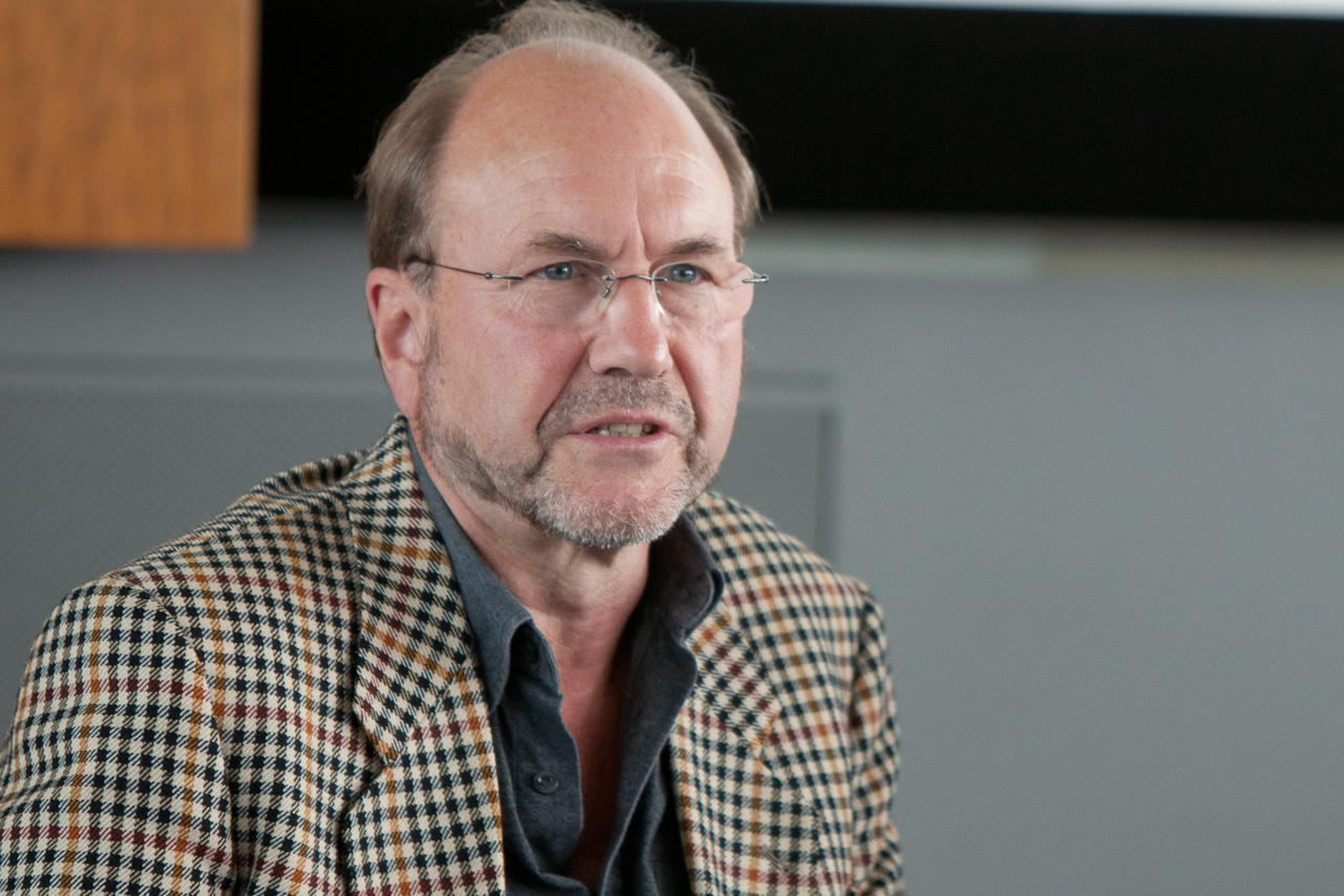 Arne Schwarz, an independent researcher of organ trafficking, attends a conference in Germany in September 2012. Schwarz uncovered undisclosed evidence of cooperation between leading surgeons and a Chinese hospital. (Jason Wang/The Epoch Times)