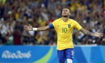 Neymar Kick Is Gold, Giving Brazil 1st Olympic Soccer Title