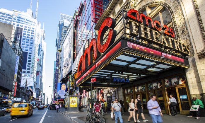 AMC Empire 25 in New York, on Aug. 23, 2016. (Samira Bouaou/Epoch Times)