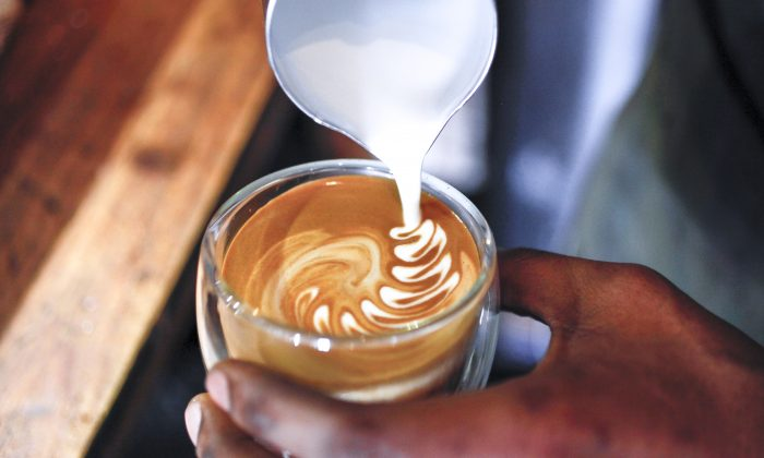 Coffee drinkers are less likely to get heart and liver disease than non-coffee drinkers. (Courtesy of New York Coffee Festival)