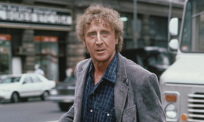 "Gene Wilder on the set of ""See No Evil, Hear No Evil,"" in 1989. (AP Photo)"