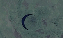 A Mystery Rotating Island 'The Eye' Spotted in Argentina (Video)