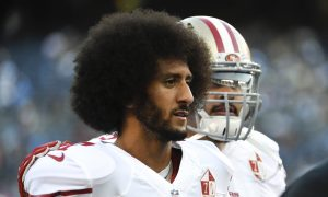 Kamala Harris Blames Russia for Controversy Surrounding Kaepernick Kneeling During Anthem