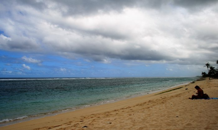 Lalomanu Beach, island of Upolu. (Joyce MacPhee)