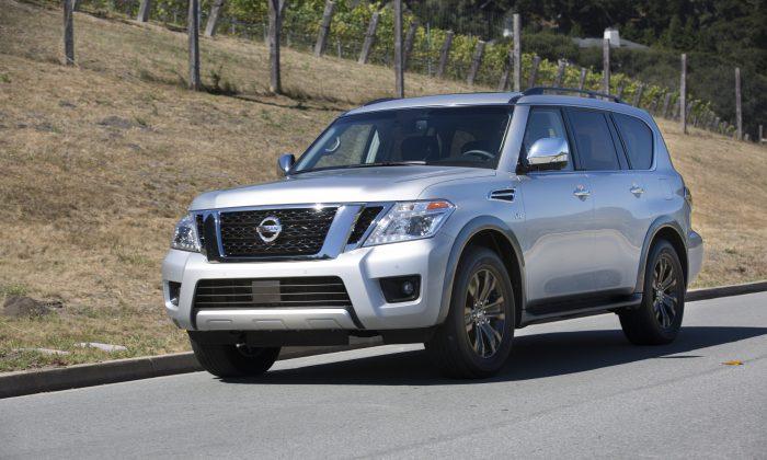 2017 Nissan Armada. (Courtesy of Nissan News)