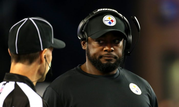Pittsburgh Steelers Coach Mike Tomlin (Jim Rogash/Getty Images)