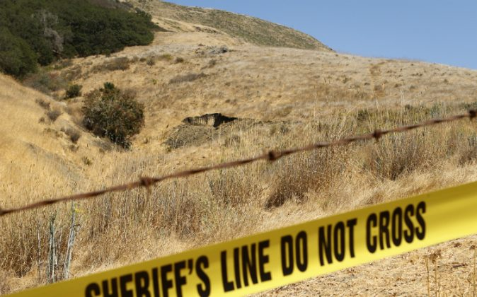 The San Luis Obispo County Sheriff's Department and the FBI have renewed a search for the remains of Kristin Smart at sites on the Cal Poly campus in San Luis Obispo, Calif., Tuesday, Sept. 6, 2016. (Joe Johnston/The Tribune (of San Luis Obispo) via AP)