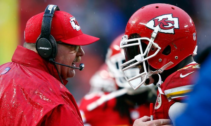 Andy Reid of the Kansas City Chiefs in a file photo. (Jamie Squire/Getty Images)