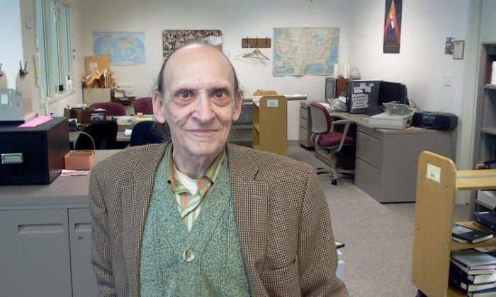 Robert Morin, who worked as a cataloguer at the Dimond Library at the University of New Hampshire for nearly 50 years, donated his entire estate of $4 million to the university. (courtesy photo University of New Hampshire)