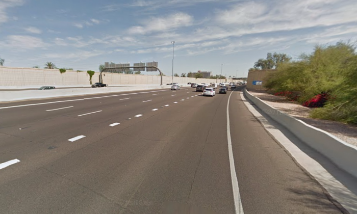 State Route 51 in Phoenix (Google Street View)