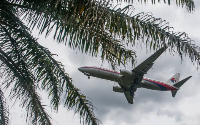 A Malaysia Airlines airplane prepares to land at Kuala Lumpur International Airport in Sepang, outside Kuala Lumpur in this file photo. (MOHD RASFAN/AFP/Getty Images)