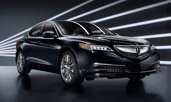 2016 Acura TLX. (Courtesy of Acura)