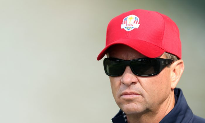 USA Ryder Cup team captain Davis Love III was also captain in 2012 when the Americans lost. (Andy Lyons/Getty Images)
