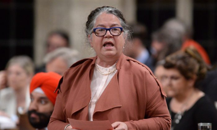 Minister of National Revenue Diane Lebouthillier during Question Period in the House of Commons on June 15, 2016. (The Canadian Press/Adrian Wyld)
