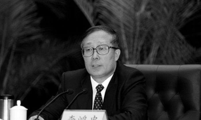 Tianjin Party Secretary Li Hongzhong. (Duowei)