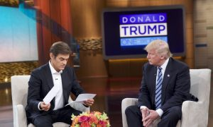 Trump Gives Dr. Oz Medical Report, Details Not Disclosed