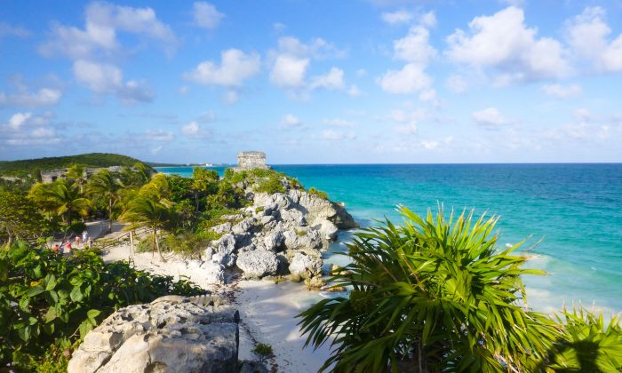 The Mayan ruins at Tulum in Mexico