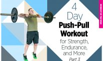 4-Day, Push-Pull Workout for Strength, Endurance, and More (Part 4 of 4)