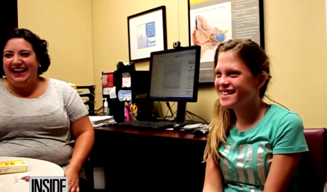 14-Year-Old Girl Breaks Down in Tears Hearing Mom's Voice Clearly for First Time (Video)