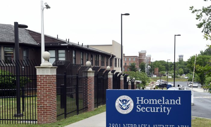 A view of the Homeland Security Department headquarters in Washington. (AP Photo/Susan Walsh, File)