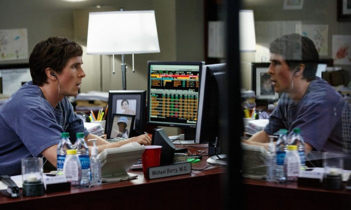 """Just like the characters of """"The Big Short,"""" its time to pick up the warning signs of a global financial crisis. (Paramount Pictures)"""
