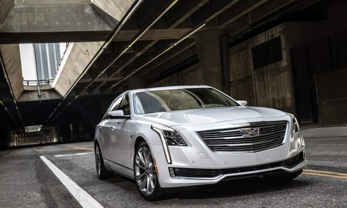 2016 Cadillac CT6. (Courtesy of Cadillac)
