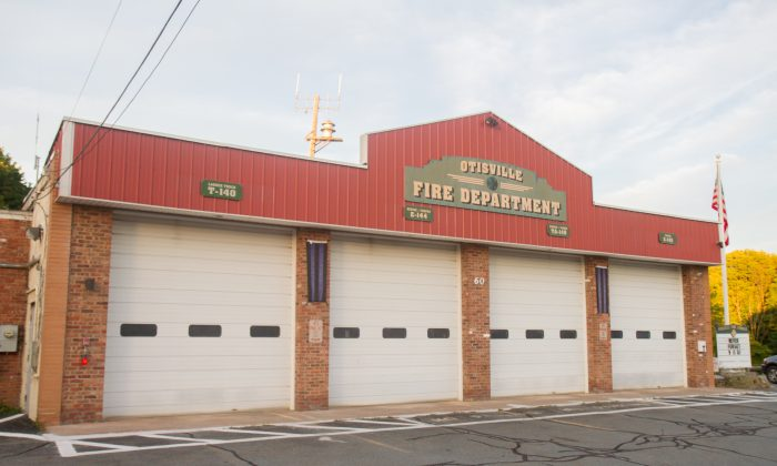 The Otisville Fire Company firehouse in Otisville on Sept. 20, 2016. The Otisville Fire Company was awarded the Town of Mount Hope's fire protection contract for 2017 on Sept. 19, 2016. (Holly Kellum/Epoch Times)