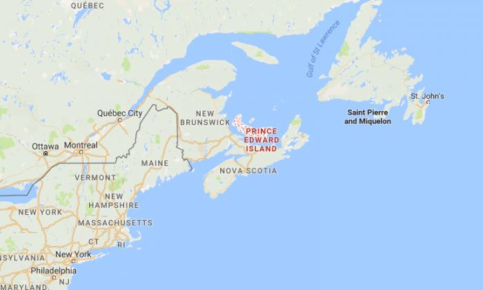 Prince Edward Island, Canada (Google Maps)