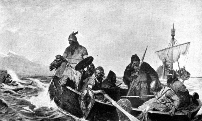 Icelandic sagas are under-appreciated in the world of European literature. (Oscar Wergeland [Public domain]/Wikimedia Commons)