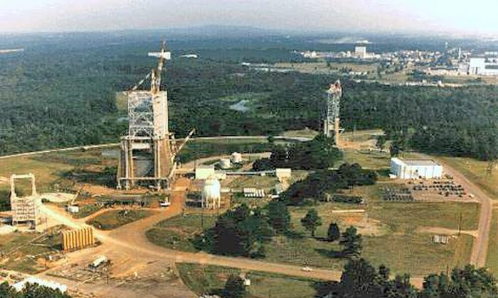 The Marshall Space Flight Center  in Alabama (Public Domain)