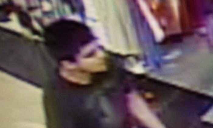 This video image provided by Skagit County Department of Emergency Management shows a suspect wanted by the authorities regarding a shooting at the Cascade Mall in Burlington, Wash., Friday, Sept. 23, 2016. (Skagit County Department of Emergency Management via AP)