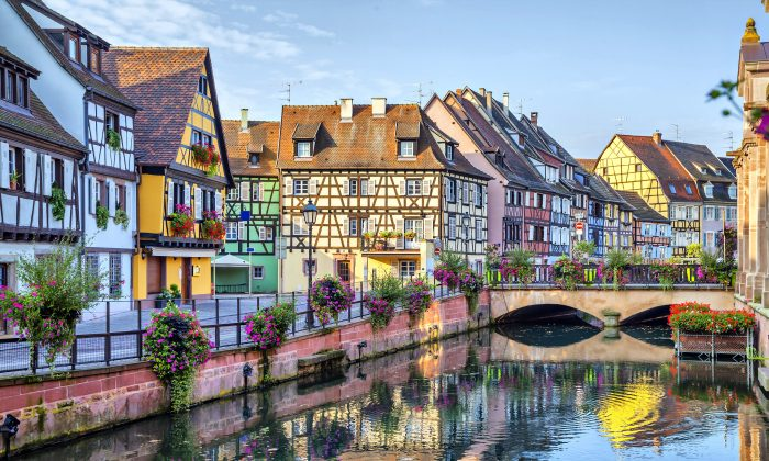 Little Venice in colourful Colmar, renowned for its well-preserved Old Town, architectural landmarks, and museums. (Courtesy of Access Alsace)